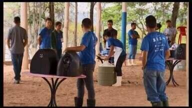 Bambuí é sede da Olimpíada Brasileira de Agropecuária - Ao todo, 165 estudantes de curso técnico participaram da competição. O desafio foi cumprir as atividades de amostragem de solos, regulagem de plantadoras e inseminação artificial.