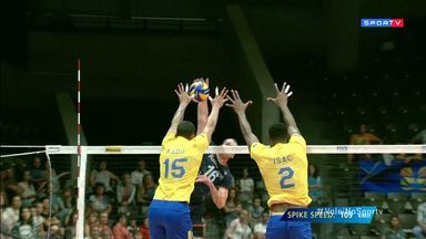 Mundial Masculino de Vôlei - Holanda x Brasil