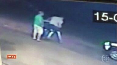 Justiça decreta prisão de motorista bêbado que pegou arma de PM durante abordagem em SP - O jovem tinha sido solto depois de uma audiência de custódia. O caso aconteceu em Palestina, São Paulo.