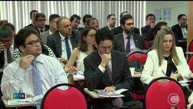 TRE-PI realiza reunião sobre segurança nas eleições - TRE-PI realiza reunião sobre segurança nas eleições