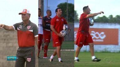 Cronistas esportivos comentam sobre o perfil do novo técnico do CRB - Confira a reportagem.