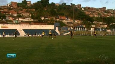 CSA continua os treinos para enfrentar o Guarani no sábado - Time pode chegar a liderança da série B.