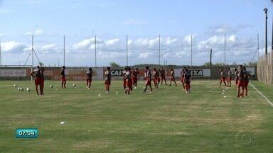CRB se prepara para jogo contra o Coritiba no Rei Pelé - Jogo será na sexta-feira (21), 20h.