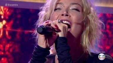 Luiza Possi canta 'Você Me Vira a Cabeça' - Confira a performance