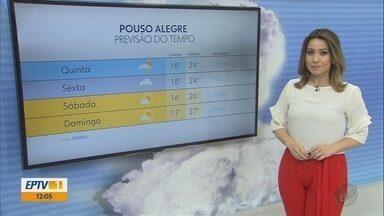 Confira a previsão do tempo para esta quinta-feira (20) no Sul de Minas - Confira a previsão do tempo para esta quinta-feira (20) no Sul de Minas