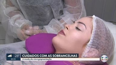 Entenda como funciona a micropigmentação de sobrancelhas - Esteticista explica como o procedimento é aplicado e para quais casos a técnica é recomendada.