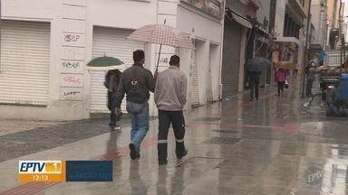 Mesmo com chuva, Campinas têm máxima de 29ºC nesta quinta-feira - Confira a previsão do tempo para cidades da região.