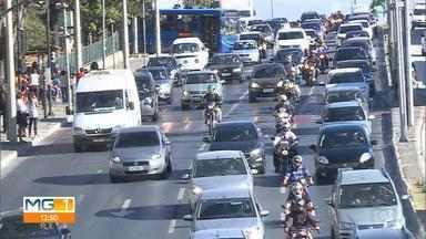 Série do MG1 aborda projetos de mobilidade que podem reduzir gargalos do trânsito - Está é a segunda reportagem sobre as vias mais movimentadas de Belo Horizonte.