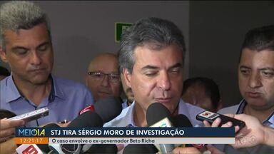 Superior Tribunal de Justiça determina que processo contra Richa saia das mãos de Moro - As investigações apuram fraudes na licitação da PR-323.