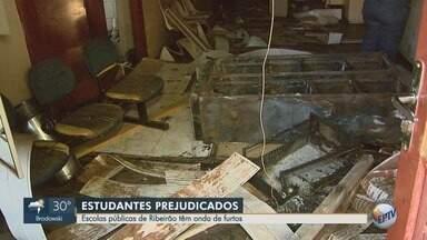 Pais reclamam de insegurança após furtos a escolas públicas em Ribeirão Preto - Apenas em 2018, 20 colégios municipais e estaduais foram alvos dos ladrões.