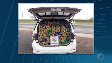 Polícia Militar Rodoviária apreende veículo com carga de maconha - Abordagem foi no trecho da Rodovia Raposo Tavares (SP-270) em Santo Anastácio.