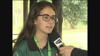 Vice-campeã Mundial de Xadrez, representante do Sul de SC mira olimpíadas - Vice-campeã Mundial de Xadrez, representante do Sul de SC mira olimpíadas
