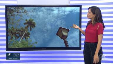 Previsão do tempo: Salvador poderá ter chuvas isoladas nesta sexta-feira (20) - Confira também as informações da umidade mínima em Ibotirama.