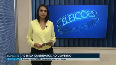 Confira como foi a agenda dos candidatos ao Governo nesta quinta-feira (20) - Candidatos fizeram campanha no Paraná.