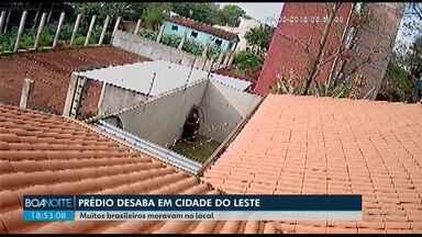 Prédio de quatro andares desaba em Cidade do Leste no Paraguai - Nós conversamos com um brasileiro que morava no local.