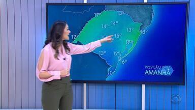 Quinta-feira (21) deve ser com predomínio de sol e tempo firme no RS - Assista ao vídeo.