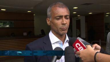 Romário (PODE) participa de reunião do TCE-RJ - Assista a seguir.