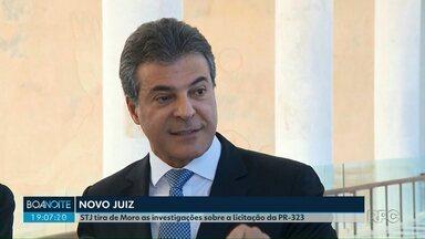 Definido juiz que vai substituir Moro na investigação que tem como alvo o ex-governador - Paulo Sérgio Ribeiro, da 23ª Vara Federal Criminal de Curitiba, vai assumir procedimento que apura suposta fraude na licitação da PR-323.