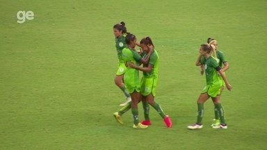 Veja os melhores momentos de Iranduba-AM 1 x 1 Rio Preto-SP, pelo Brasileiro feminino - Duelo foi realizado nesta quinta, na Arena da Amazônia, em Manaus, e decretou eliminação de clube amazonense