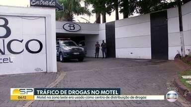 Motel na Zona Leste era usado como centro de distribuição de drogas - Dois suspeitos foram mortos em tiroteio.