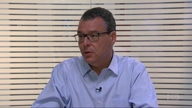 Marcelo Trindade (Novo) é entrevistado pelo RJ1 - O candidato ao governo do estado do Rio de Janeiro foi entrevistado pelo RJ1.