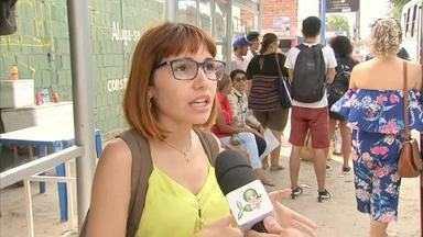 Mudanças confundem passageiros em paradas de ônibus na Av. Silas Munguba - Saiba mais em g1.com.br/ce