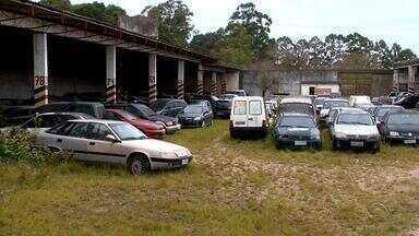 Depósitos da Polícia Federal tem quase três mil carros parados na Região Sul do Brasil - Assista ao vídeo.