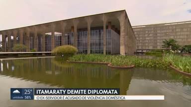 Itamaraty demite primeiro-secretário - O diplomata foi preso em casa na última quarta-feira por violência contra a mulher.