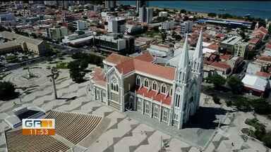 Aniversário de Petrolina: veja a Catedral do Sagrado Coração de Jesus por outro ângulo - A Catedral é um dos pontos mais conhecidos do município