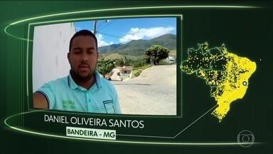 Bandeira, Treze Tílias, Coqueiral, Capão do Leão, Itanhandu, Iguaraçu, Barra do Guarita - Moradores de Bandeira (MG), Treze Tílias (SC), Coqueiral (MG), Capão do Leão (RS), Itanhandu (MG), Iguaraçu (PR) e Barra do Guarita (RS) dizem o que querem para o futuro.