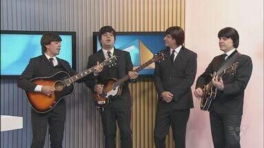 Banda cover dos Beatles se apresenta em Praia Grande - Com a banda Beatles 4 Ever, a impressão é de estar em um show dos Beatles. Show será no Palácio das Artes.