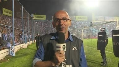 Missão Repórter: Régis Rosing é desafiado em partidas de brasileiros na Libertadores - Missão Repórter: Regis Rosing é desafiado em partidas de brasileiros na Libertadores