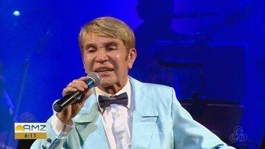 Zezinho Corrêa apresenta show com músicas de Roberto Carlos no Teatro Amazonas - Cantor faz show neste sábado (22).