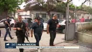 Polícia civil e ministério público fazem operação contra milícias de Maricá e São Gonçalo - Grupos aterrorizavam as duas cidades e são suspeitos de chacina em março, num condomínio em Maricá. 18 pessoas foram presas.