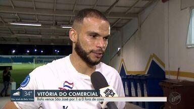 Comercial-SP vence o São José na Segundona do Campeonato Paulista - Pinho comenta o resultado da partida no último sábado (22).