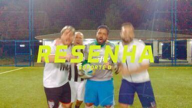 Resenha 2018: Garotinhos falam sobre a 26ª rodada do Brasileirão - Garotinhos comentam o desempenho de seus times em mais uma rodada do campeonato, e Fred Rezende comemora a chegada de seu filho Theo.
