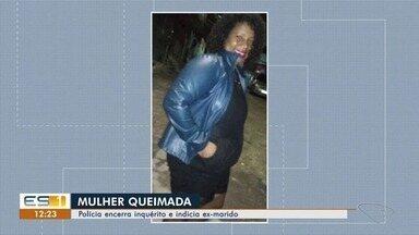 Cadeirante confessa que colocou fogo em ex, na Serra - Ela está em estado grave e vai precisar amputar uma das pernas.