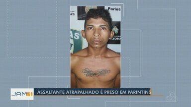 Homem é preso após esquecer receita médica com próprio nome durante roubo em Parintins - Assalto ocorreu em uma drogaria.