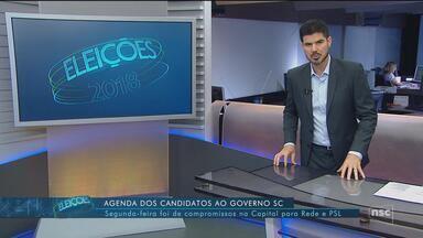 Confira a agenda dos candidatos Comandante Moisés e Rogério Portanova - Confira a agenda dos candidatos Comandante Moisés e Rogério Portanova