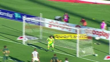 Palmeiras tem bom resultado na rodada do Campeonato Brasileiro - Corinthians empatou e o Santos perdeu.