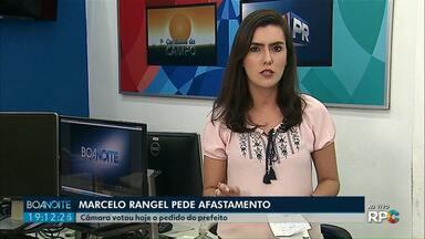 Marcelo Rangel pede afastamento do cargo - A vice Elizabeth Schimidt assume no lugar dele.