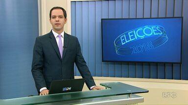 Confira como foi o dia de campanha dos candidatos ao Governo do Paraná - Eleições 2018.