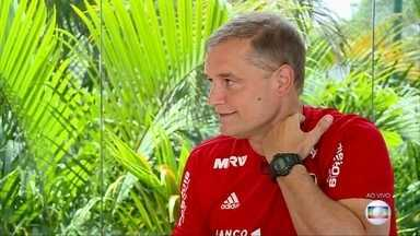 Aguirre fala ao vivo no Globo Esporte - undefined