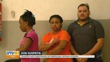 Trio é preso em Ribeirão Preto por suspeita de desbloquear e vender Iphone furtados - Operação Rubro prendeu suspeitos em Teresina (PI), Brasília (DF) e São Paulo.
