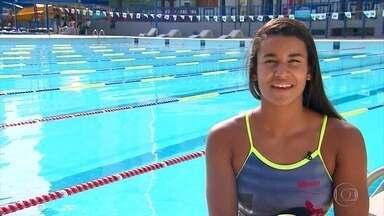 Talentos começam a aparecer na natação pernambucana - Enquanto atletas como Joanna Maranhão se aposentam, outros surgem para renovar o esporte local