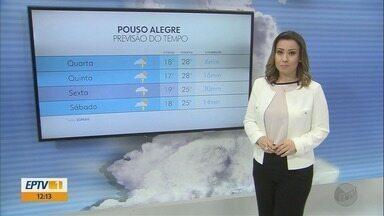 Confira a previsão do tempo para esta quarta-feira (26) - Confira a previsão do tempo para esta quarta-feira (26)