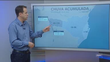 Veja como ficará o tempo em todas as regiões de SC nesta quinta-feira (27) - Veja como ficará o tempo em todas as regiões de SC nesta quinta-feira (27)