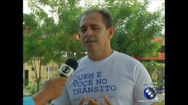 Em Paragominas, o Senat realiza ações educativas ainda na Semana Nacional do trânsito - Termina hoje o prazo para o eleitor solicitar a segunda via do título eleitoral.