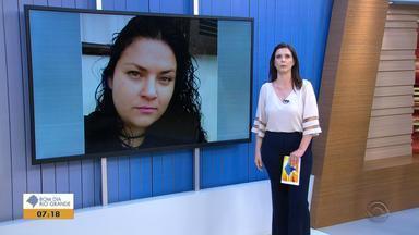 Polícia procura homem suspeito de matar mulher com um tiro na cabeça em Carazinho - Assista ao vídeo.
