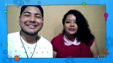 Telespectadores contam o que aprenderam no 'É de Casa - Participe e mande seu vídeo dizendo o que aprederam no programa